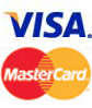 Master Card & Visa accepted